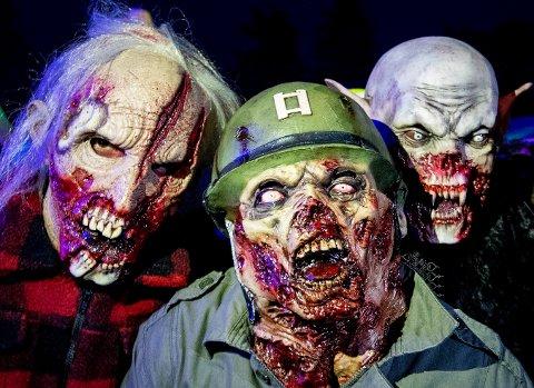 Ikke alle barn ser frem til Halloween, ifølge mobbeombudet i Nordland. AP Photo/Michael Probst