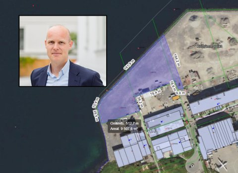 Daglig leder Morten Solberg Watle og selskapet GreenH har en rekke tunge aktører i ryggen når det skal satses på å bygge en storstilt hydrogenproduksjon i Bodø. Produksjonsanlegget er tenkt plassert på Langstranda. Foto: GreenH/Bodø kommune