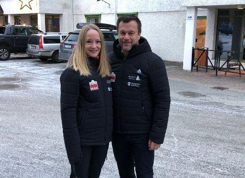 Skal bli best: Christine Løksti (37) og Henry Hansen (51) overtar formelt driften på nyåret, og de har store planer om å utvikle og fornye deres tilbud: - Vi skal bli best i Salten.