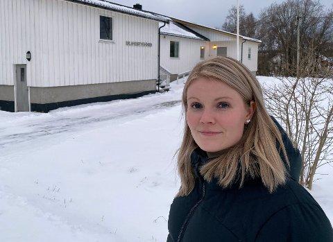 Fikk null: Stina Bakken og UL Vestfjord må iverksette en plan B for å berge ungdomshuset sitt etter at søknaden deres om koronamidler ble avvist.