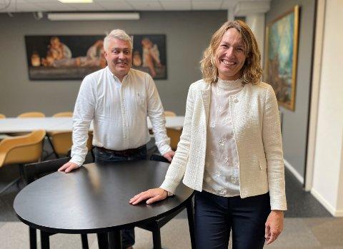 Tord Kolstad og Aino Olaisen er blant investorene som vil etablere et kjempefond.