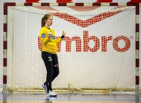 Målvakt Marie Davidsen og resten av Tertnes-kvinnene slet seg til seier og en tredje, avgjørende semifinale.