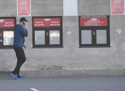 Kristoffer Barmen var ikke klar for å snakke med BA tirsdag kveld. I stedet reiste han rett fra Stadion til Flesland, for å fly til Ålesund.