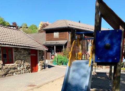 KORONA: Bø barnehage i Sokndal hadde smågrupper fra april frem til tidlig sommeren 2020.