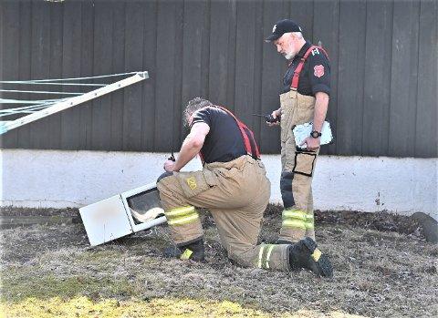 RØYK: En brukerfeil i mikrobølgeovnen førte til røykutvikling i en bolig.