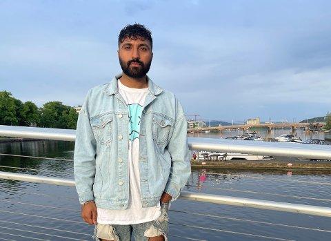 Ali Hussain (25) og Shutdown Events har gått sammen med Kirkens Bymisjon og Skattkammeret for å gi ungdommen et kulturarrangement under Elvefestivalen.