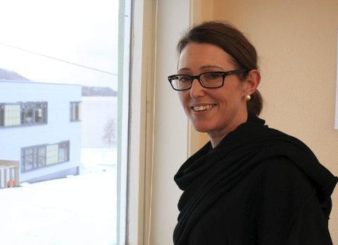 HAR INNFØRT TILTAK: – Vi ser effekt av tiltaka som vi har innført, seier rektor Heidi Humlestøl Aasen ved Eikefjord skule. Foto: arkiv