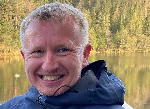 HOBBY:– Eg går ikkje så fort, men eg likar å gå langt, det svarar seg i ein slik konkurranse, seier Torbjørn Nilsen som har gått 25 kilometer i fjellet kvar dag sidan 1. mai.