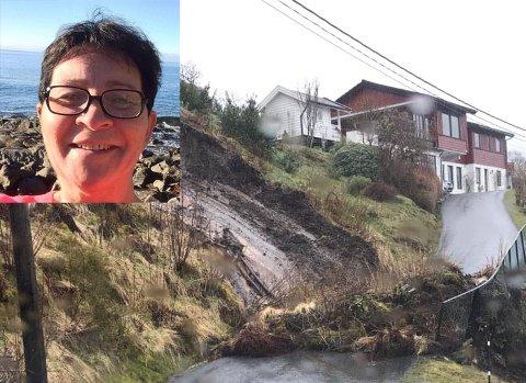 RAS: Jordraset blokkerte oppkøyrselen til naboen til Heidi Hugøy Myklebust