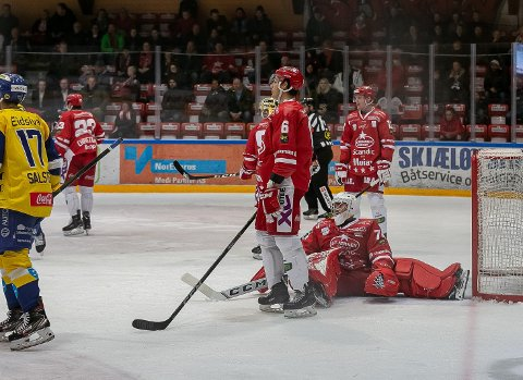 MÅLMANN: Max Nygren (19) forteller til FB at han var forberedt på å jage plassen som førstekeeper, ikke forsvare den - som nå.