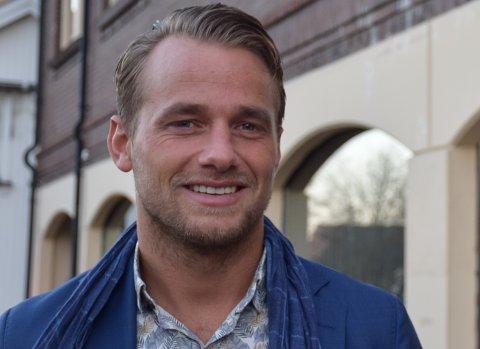 SPENNENDE PLANER: Eirik Wiik flytter arbeidsplassen til Oslo.