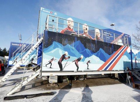 KOMMER: Den norske smøretraileren kommer til Kongsvinger torsdag.FOTO: NTB/SCANPIX Foto: Terje Pedersen / NTB scanpix