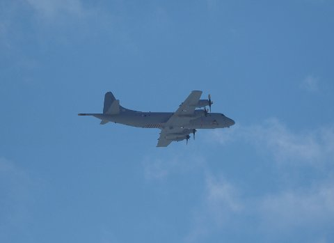 Dette overvåkingsflyet ble observert over Lillehammer torsdag.
