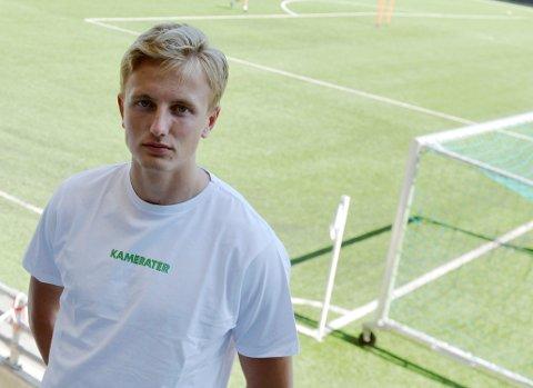 Vetle Skjærvik har spilt en nøkkelrolle i HamKam denne sesongen. Nå må lillehamringen se resten av sesongen fra tribunen.