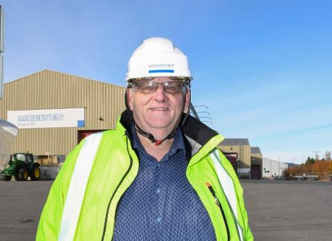 Morten Kristiansen, konsernsjef i Moelven Industrier ASA.