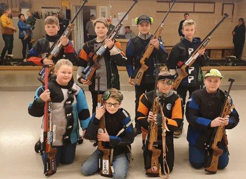 FRA FINALEN: Gjengen fra Tingelstad skytterlag i Lapua Cup.