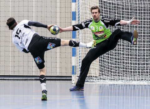 FERDIG I HTH: Hreidar Gudmundsson hadde kontrakt med Halden Topphåndball også for neste sesong, men har nå blitt enig med klubben om å avbryte kontrakten til sommeren.
