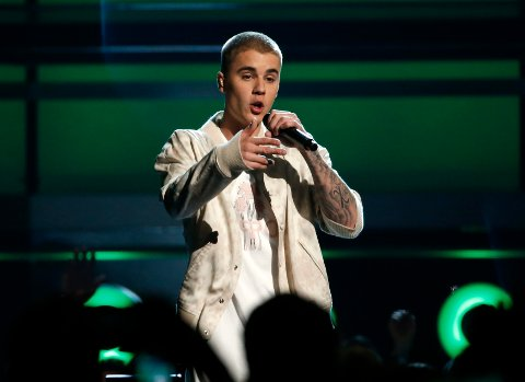 TIL STAVANGER: Justin Bieber.