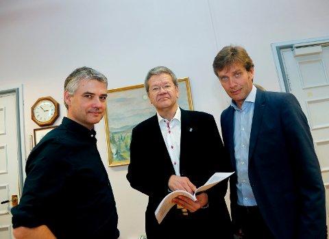 Jo Inge Hagland, Arne- Christian Mohn og Ole Bernt Thorbjørsen er blant dem dere kan velge til å vie dere etter nyttår.