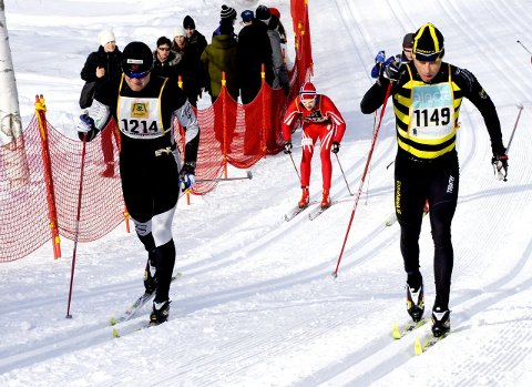 Tok begge: Nils Andre Reinfjord (t.v.) tok både Vasaloppet og Birkebeinerrennet i år. Han hadde håpet å komme under tre timer i helga, men måtte gi opp.    Foto Charlotte Raaum/Sportbild