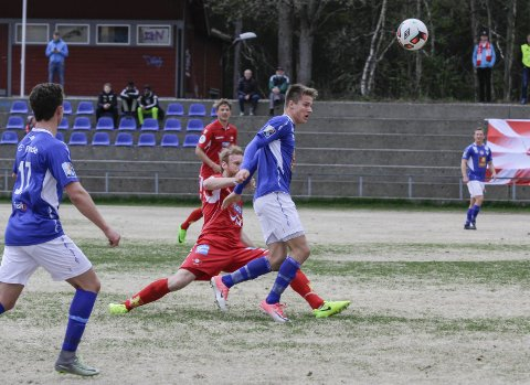 CUP: I cupkampen mellom Mosjøen og Levanger FK i fjor ble det 0-5. Lasse Hansen Lien gjorde en god figur, og har næ prøvespilt for LFK.