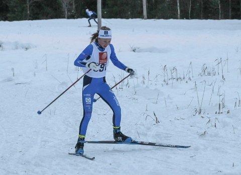 MÅTTE DRA HJEM: Elise Bredesen Øvereng og de andre løperne fra Mosjøen IL fikk ikke konkurrert denne helga heller.