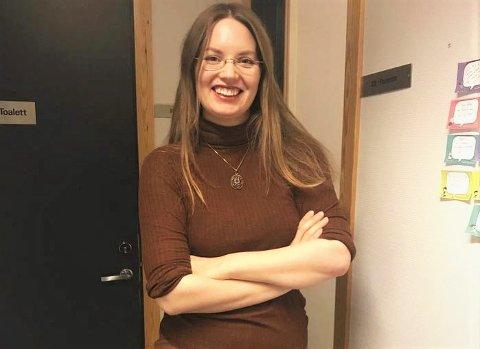 Virksomhetsleder Astrid Gaup Skancke.