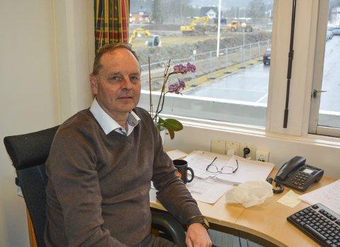 Gleder seg: Jens Kristian Waaler fra Lierfoss gleder seg til å ta fatt på nye oppgaver.