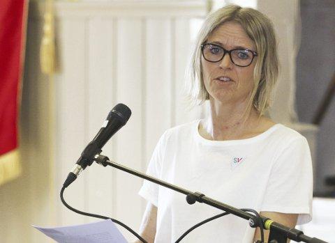STILLER FLERE SPØRSMÅL: Anya Alme i SV har to grunngitte spørsmål i neste møte i kommunestyret. Arkivfoto