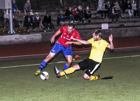 Per Stian Øverdal scoret reduseringsmålet da Drangedal tapte 2-1 borte for Eidanger.