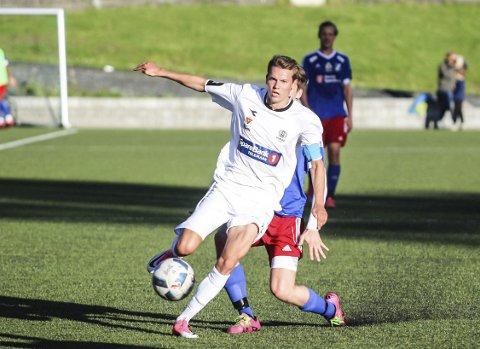 God: Eirik Heldal har vært kaptein på Urædds lag, som topper 4. divisjon i Telemark. Nå skal den kjappe og løpssterke midtbanemannen spille for Vidar i Stavanger. Foto: Stian Kittilsen/PD