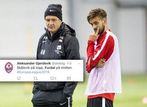 Johnny Furdal har denne veka vore med Lars Arne Nilsen & co på trening. Mange Brann-fans ønsker å sjå kvinnheringen i raudt neste sesong.