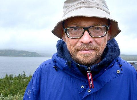 KLAR IGJEN: Bugge Wesseltoft står i spissen for musikkfestivalen på Imingfjell. Fjorårets ble preget av regn, men nå er værvarselet strålende.