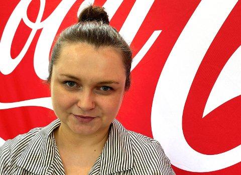 UT AV KOMFORTSONEN: Ewelina Zawadzkas råd til andre med lederambisjoner er å gripe mulighetene når de byr seg.