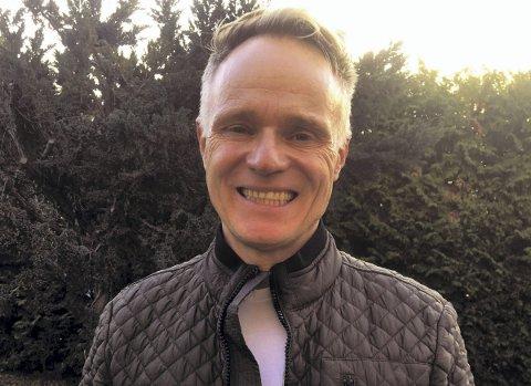 POPULÆR: Elever og lærere på Kongshavn videregående heier nå på at Claus Dahm skal bli årets entreprenørskapslærer. Foto: Privat