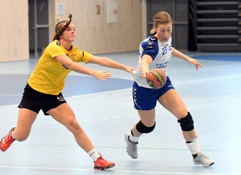 TILBAKE I NIF: Ane Marthe Lines er tilbake i Nordstranddrakten og scoret fire mål mot OS.
