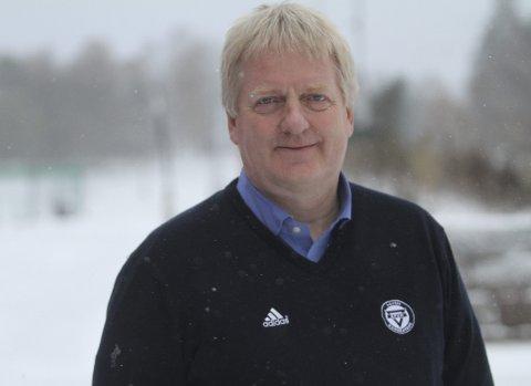 TRAVEL MANN: Daglig leder Thor- Erik Stenberg i KFUM/Oslo.  Foto: Arild Jacobsen