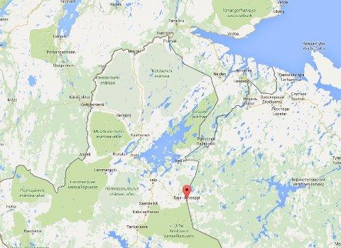FINSK GRENSESTASJON: Raja-Jooseppi er den nordligste grensestasjonen mot Russland.
