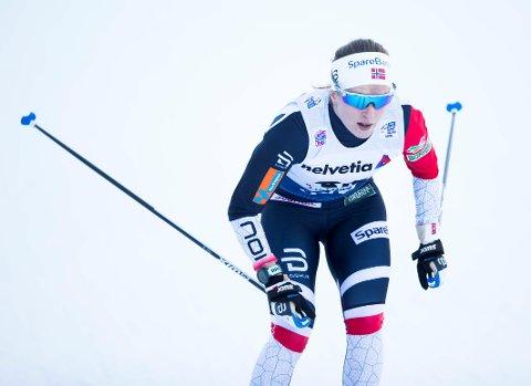 I FORM: Anna Svendsen slo til med karrierens nest beste resultat med 7. plass på verdenscupsprinten i Otepää i dag. Foto: Terje Pedersen / NTB scanpix