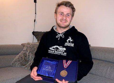 FANT GLEDEN: Birk Sømhovd sier til Nordlys at det er barna han nå trener som har gitt ham inspirasjonen til selv å konkurrere igjen. Det ga sist helg et sterkt NM-sølv.