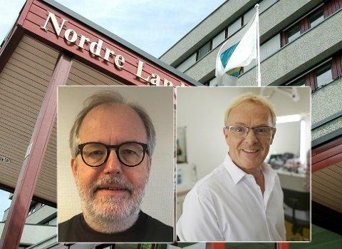 NY JOBB: Kai Slagsvold Hekne (til venstre) får jobben som avdelingsdirektør for Samfunnsutvikling og drift i Nordre Land. Per Sandberg (til høyre) nådde ikke opp.