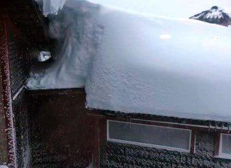 MER OG MER: Snødybden i Vestoppland ligger akkurat nå på 130-200 prosent av det normale for årstiden.