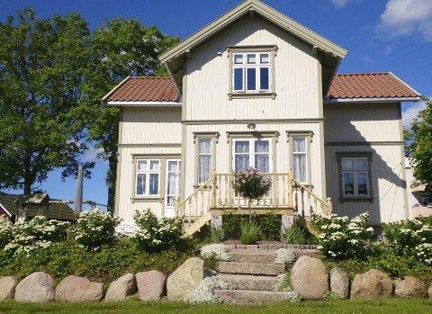 KOM PÅ BESØK: Om en måned er det åpen hage her i Vilbergveien på Finstad.