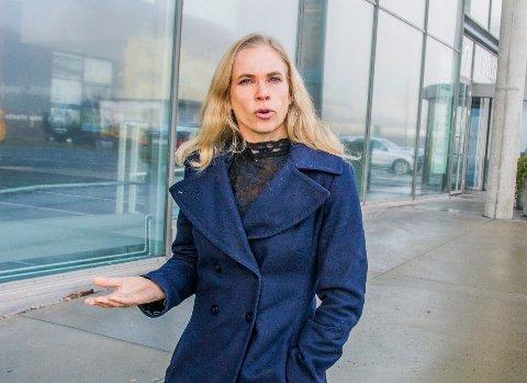 KLAR TALE: Birgitte Gulla Løken liker ikke ordbruken i onsdagens Facebook-innlegg.