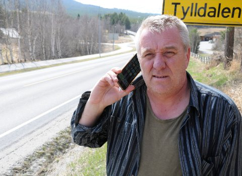 ENDELIG SIGNAL: - Telenor har gjort en bra jobb, sier Roar Moen i Tylldalen.