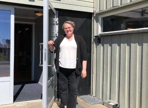 KLART: Gitte Jørgensen Aarum håper ungdomshuset er åpent og tilbake til normal drift etter sommerferien.