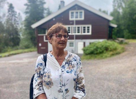 NEGATIV: Grete Nordbæk i Elverum Kvinne- og familielag liker ikke tanken på at Galgebergparken kan bli ødelagt av blokker.