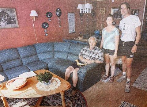 BARE SE, IKKE RØRE: Alt er klart til innflytting både i leiligheten til Josef Bekkevold og hos det nygifte paret Janne Aasbø og Terje Johannesen.