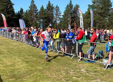 GODT LØP: Peder Aabogen Haugaard løp og orienterte han inn til en sterk 15. plass på langdistanse i Hovedløpet, som er et uoffisielt NM for yngre.