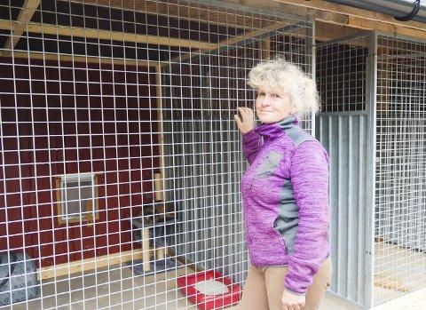 Ta hensyn: Siri Schreiner oppfordrer folk til å ta hensyn til dyrene før, under og etter nyttårsaften.Foto: Lisa Ditlefsen